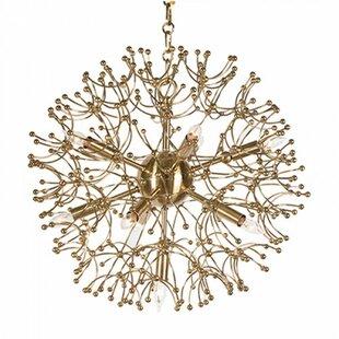 Aidan Gray Organic Globe Sputnik Chandelier
