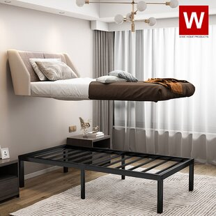 14 Steel Platform Bed by Wise Home Products