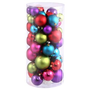Ball Ornament Set in Gold (Set of 50)