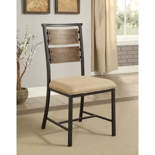 Lise Metal Frame Upholstered Dining Chair (Set of 2) by Williston Forge