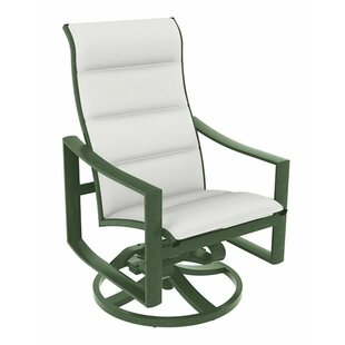Kenzo Swivel Patio Dining Chair with Cushion