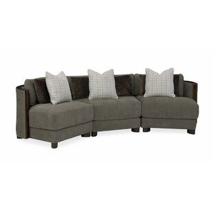 Modern Symmetrical Streamline Commodore Sectional By Caracole Modern