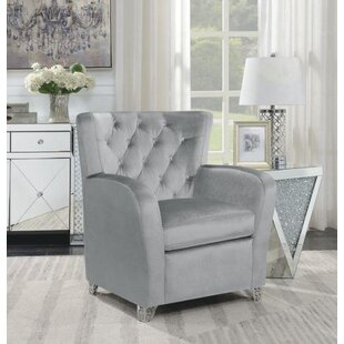 Oakhaven Wingback Chair by Everly Quinn