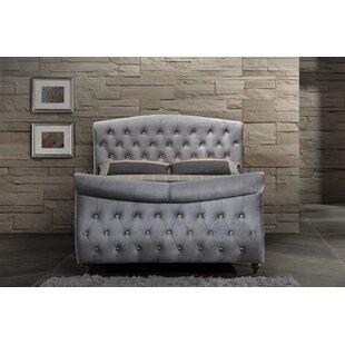 Mercer41 Conard Upholstered Sleigh Bed