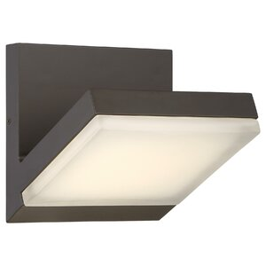 Augustus 1-Light Outdoor Flush Mount