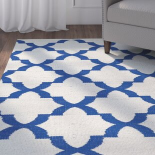 Buying Tyesha Navy/White Indoor/Outdoor Area Rug By Winston Porter