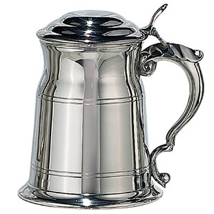 Perrinton Plain Tankard 19 oz. Pewter/Stainless Steel Mug
