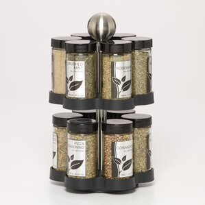 madison 12 jar spice jar u0026 rack set - Spice Jars