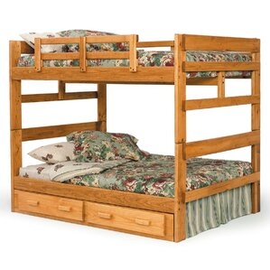Full over Full Bunk Bed with Storage by Chelsea Home