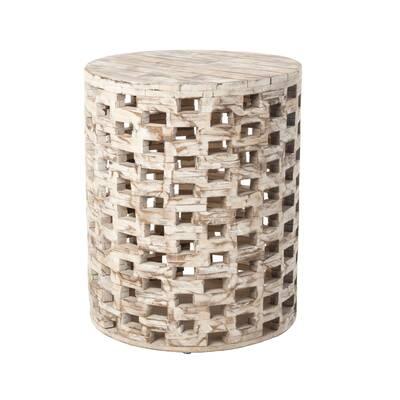 Superb Wildwood Coral Bay Garden Stool Wayfair Beatyapartments Chair Design Images Beatyapartmentscom