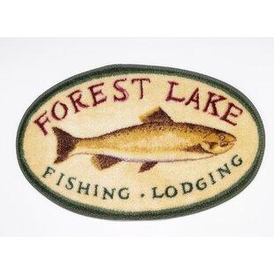Rather Be Fishing Bath Rug