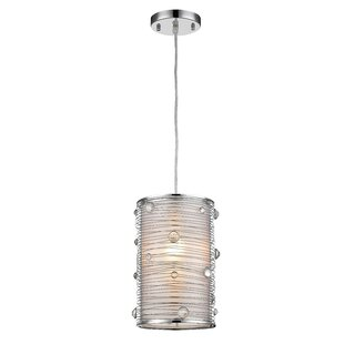 Ebern Designs Ferretti 1-Light Cylinder Pendant