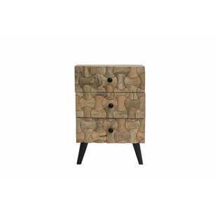 Union Rustic Burkesed End Table with Storage