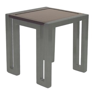 Icon Square Aluminum Side Table