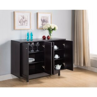 Waldrup Stylish Buffet Table with Four Doors by Latitude Run