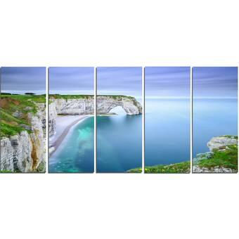 Breakwater Bay Custom Cross Cut Iv Framed Graphic Art Wayfair