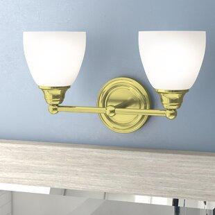 Best Reviews Manley 2-Light Vanity Light By Three Posts