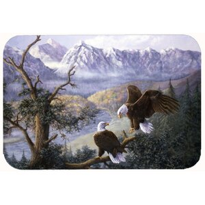 Eagles by Daphne Baxter Kitchen/Bath Mat
