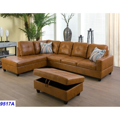 Remarkable Russ Sectional With Ottoman Andover Mills Orientation Right Alphanode Cool Chair Designs And Ideas Alphanodeonline