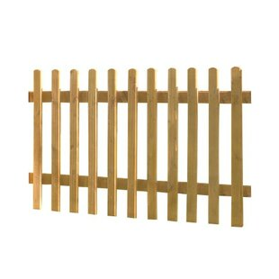 6' x 3' (1.83m x 0.9m) Picket Fence Panel (Set of 3) by Bel Étage