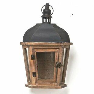 Darby Home Co Wood/Metal Lantern