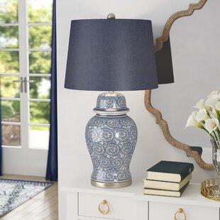 Blue And White Ginger Jar Lamp Wayfair