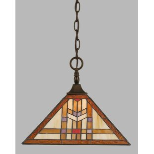 Mendoza 1-Light Chain Pendant  sc 1 st  Wayfair & Pendant Light With Chain | Wayfair
