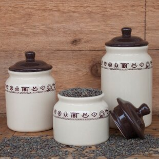 Elettra 3 Piece Storage Jar Set