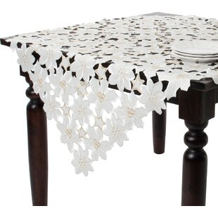 Embroidered and Cutwork Tablecloth