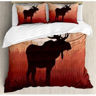 Moose Duvet Cover Wayfair