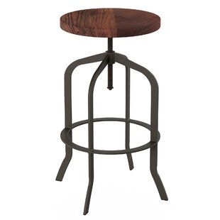 Washburn Adjustable Height Swivel Bar Stool by Williston Forge