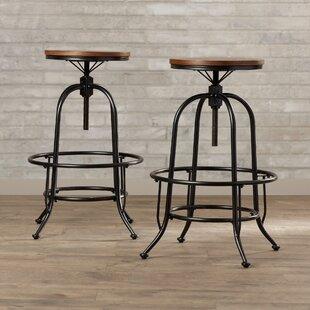 Marvelous Sale Brayden Studio Peguero 26 Bar Stool Set Of 2 Reviews Machost Co Dining Chair Design Ideas Machostcouk