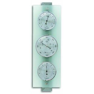 Modern Column Glass Barometer Image
