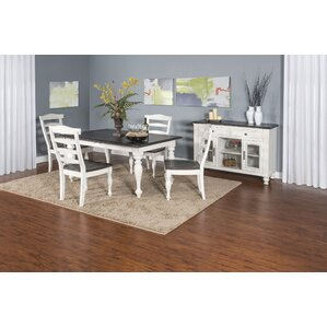 Villepinte 5 Piece Dining Set by August Grove