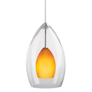 Fire 1-Light Cone Pendant ..