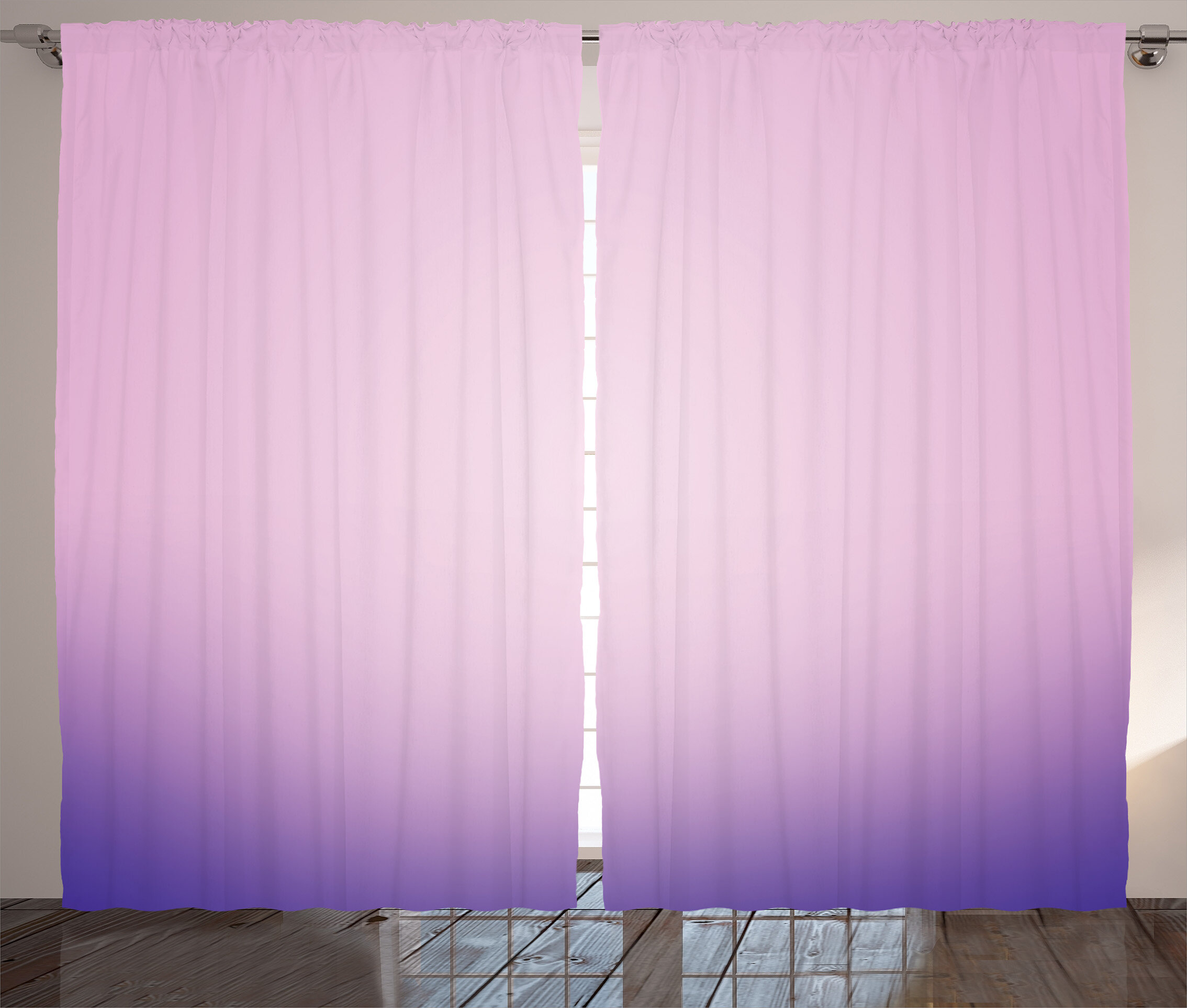 garden semi sheer curtain free on panel ombre product shipping panels curtains achim over overstock home orders