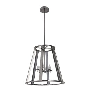 Brayden Studio Bertsch 6-Light LED Cone P..