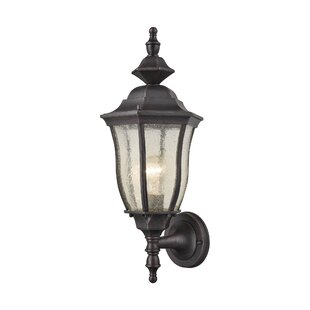 Compare prices Nilsson 1-Light Outdoor Wall lantern By Alcott Hill