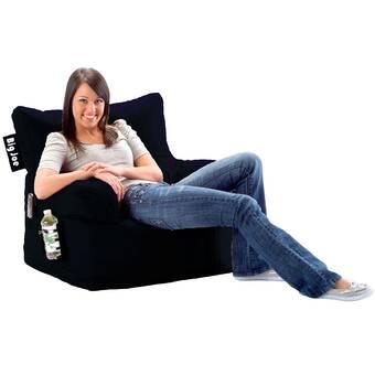 Comfort Research Big Joe Dorm Personalized Bean Bag Chair ...