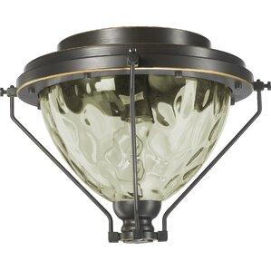 adirondacks 1light patio ceiling fan light kit - Ceiling Fan Light Kits