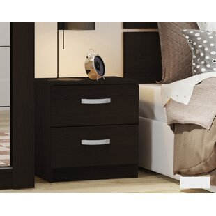 Duggan 2 Drawer Bedside Table By 17 Stories