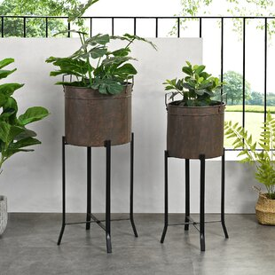 Extra Large Gracie Oaks Planter Pots You Ll Love In 2021 Wayfair
