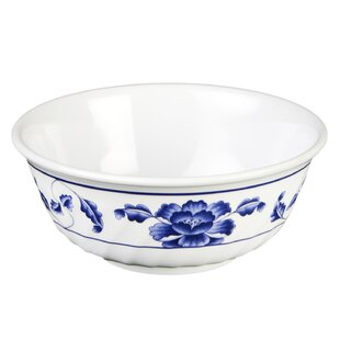 Helsingor 32 oz. Melamine Swirl Cereal Bowl (Set of 12)