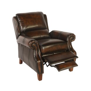 Canora Grey Minor Leather Manual Recliner