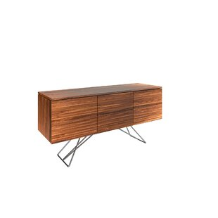 Alegra 2 Drawer Buffet Table Union Rustic