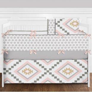 Aztec 9 Piece Crib Bedding Set