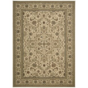 Lumiere Royal Countryside Beige Area Rug byKathy Ireland Home Gallery