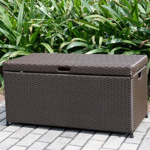 Jeco Inc. 70 Gallon Wicker Deck Box