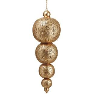 World Menagerie Babbar Metal Filigree Hanging 1-Light Pendant