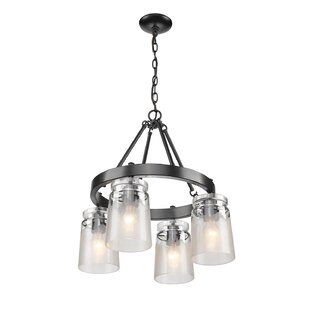 Loon Peak Rock River 4-Light Chandelier